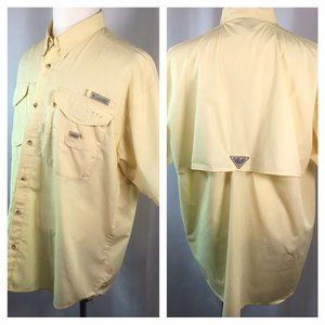 Columbia PFG~Vented~Fishing~Outdoor~Short Sleeve~
